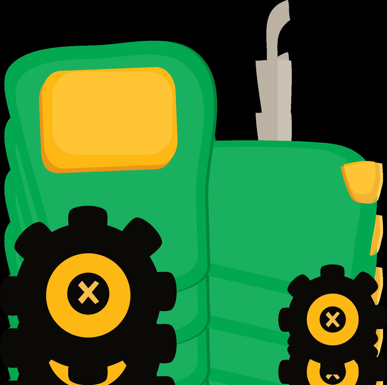 Book bin clipart png Fazendinha Cute Clipart Tractor Png Minus Cliparts Co | Т farm ... png