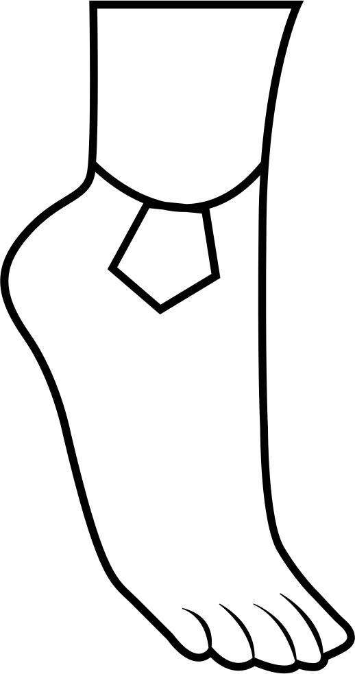 Anklet Svg Png Icon Free Download (#363794) - OnlineWebFonts.COM image