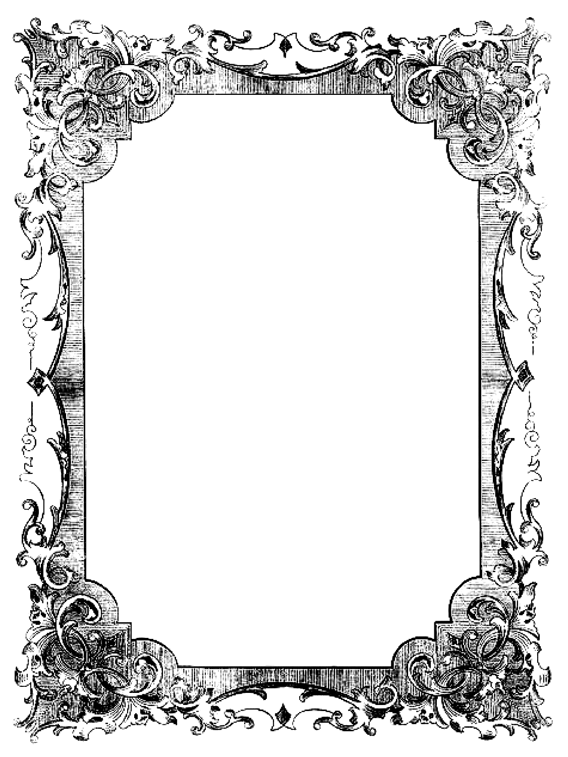 Free frame clipart book image transparent library Transparent Frames | Be Book Bound: Jane Austen Month, Day 20 ... image transparent library