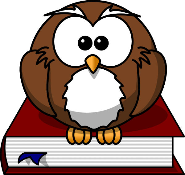 Book box clipart banner transparent download Cartoon Owl Sitting On A Book Clip Art at Clker.com - vector clip ... banner transparent download