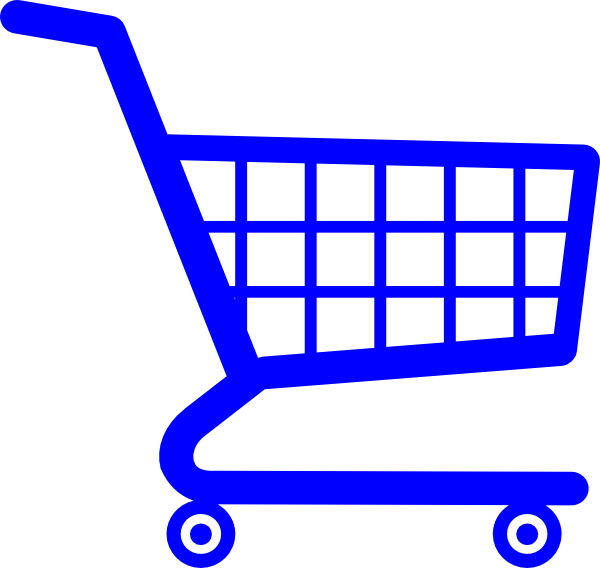 Book cart clipart vector transparent stock Shopping Cart Clip Art at Clker.com - vector clip art online ... vector transparent stock