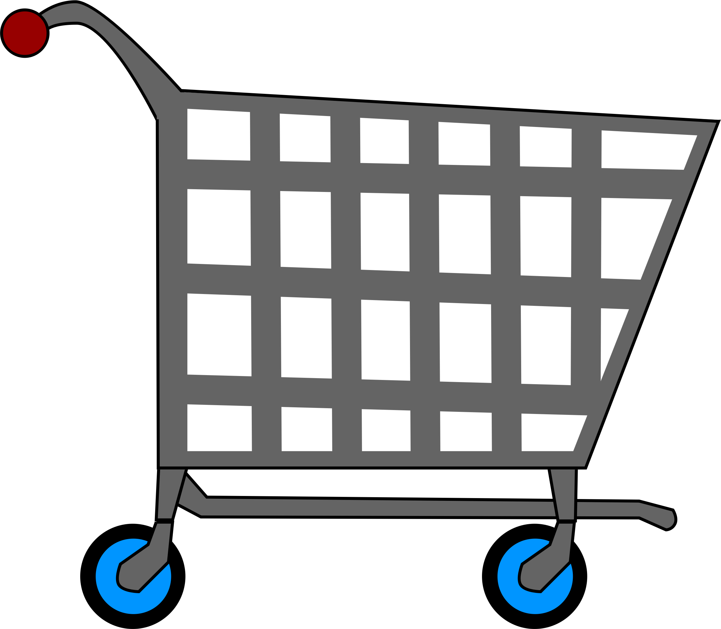 Book cart clipart vector royalty free Shopping cart PNG images free download vector royalty free