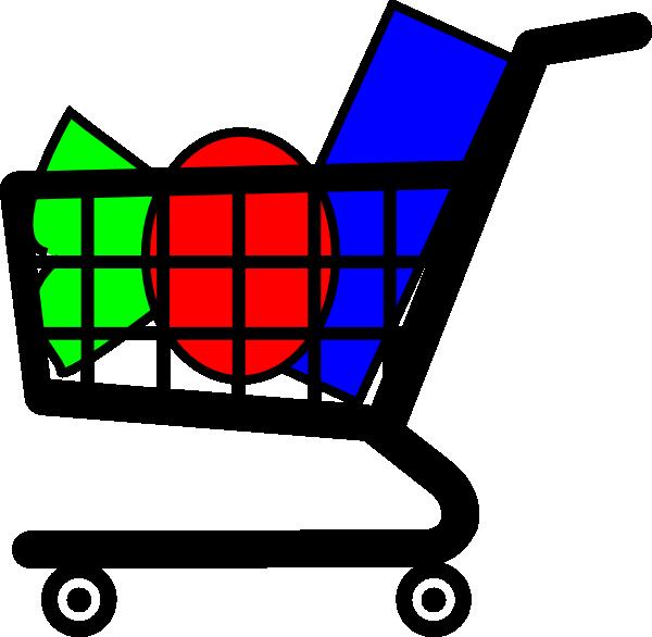 Book cart clipart transparent stock Shopping Cart Clipart (37+) transparent stock