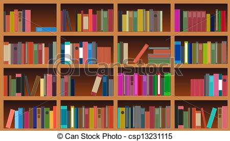 Book case clipart vector transparent stock Bookcase Stock Illustration Images. 3,277 Bookcase illustrations ... vector transparent stock