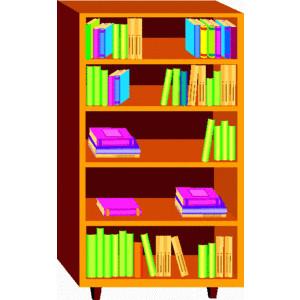 Book case clipart download Bookcase Clipart & Bookcase Clip Art Images - ClipartALL.com download