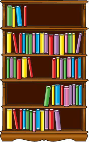 Book case clipart clip black and white download Book shelf clip art - ClipartFest clip black and white download