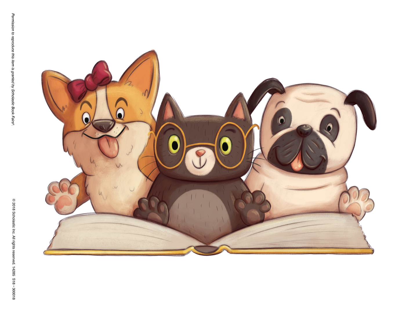Clipart book fair png library library Paws for Books - UPDATE! | Smore Newsletters for Education png library library
