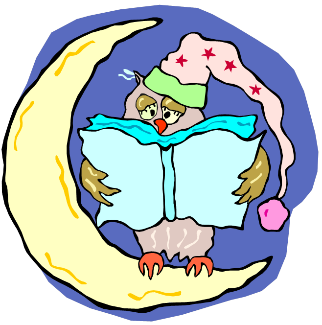 Rabbit reading book clipart clipart black and white library Read Rabbit Read: Early Literacy Challenge 9: Bedtime Stories clipart black and white library