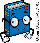 Book character clipart vector free stock Royalty-Free (RF) Book Character Clipart, Illustrations, Vector ... vector free stock