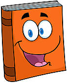Book character clipart free