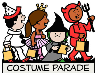 Book character costume clipart vector freeuse download Book character parade clipart - ClipartFest vector freeuse download