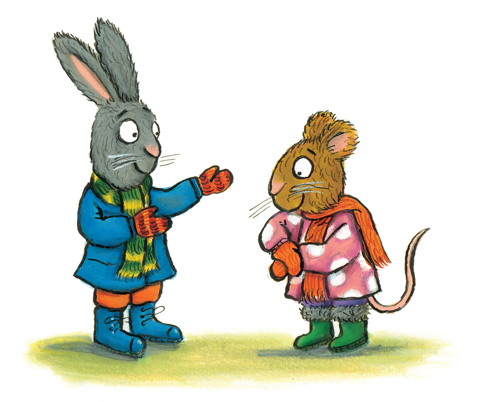 Axel Scheffler's official website | Pip and Posy: The Snowy Day vector stock
