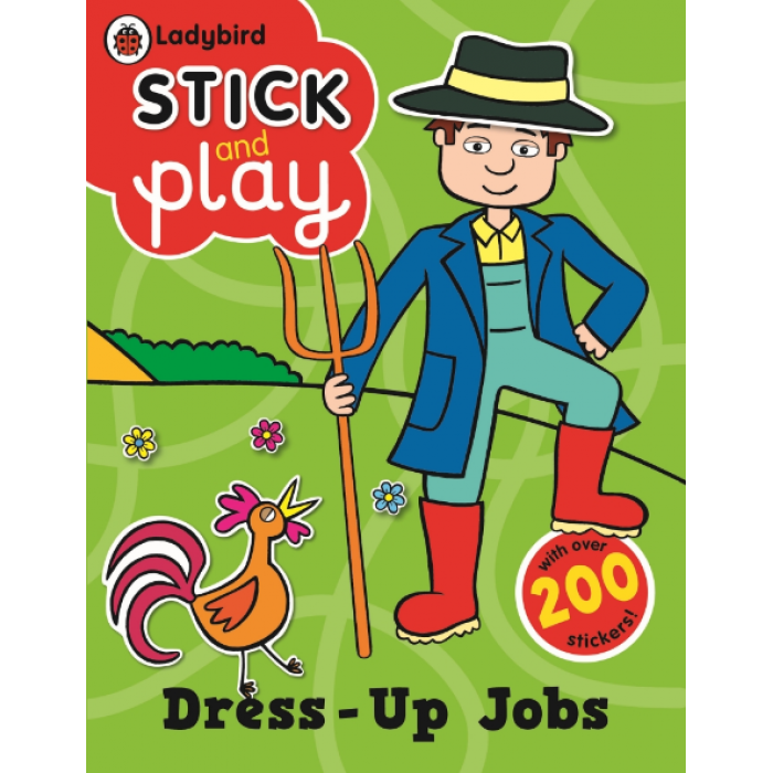 Book character dress up clipart banner free download Dress-Up Jobs: Ladybird Stick And Play Activity Book banner free download