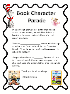 Book character parade clipart free download Character parade clipart - ClipartFest free download