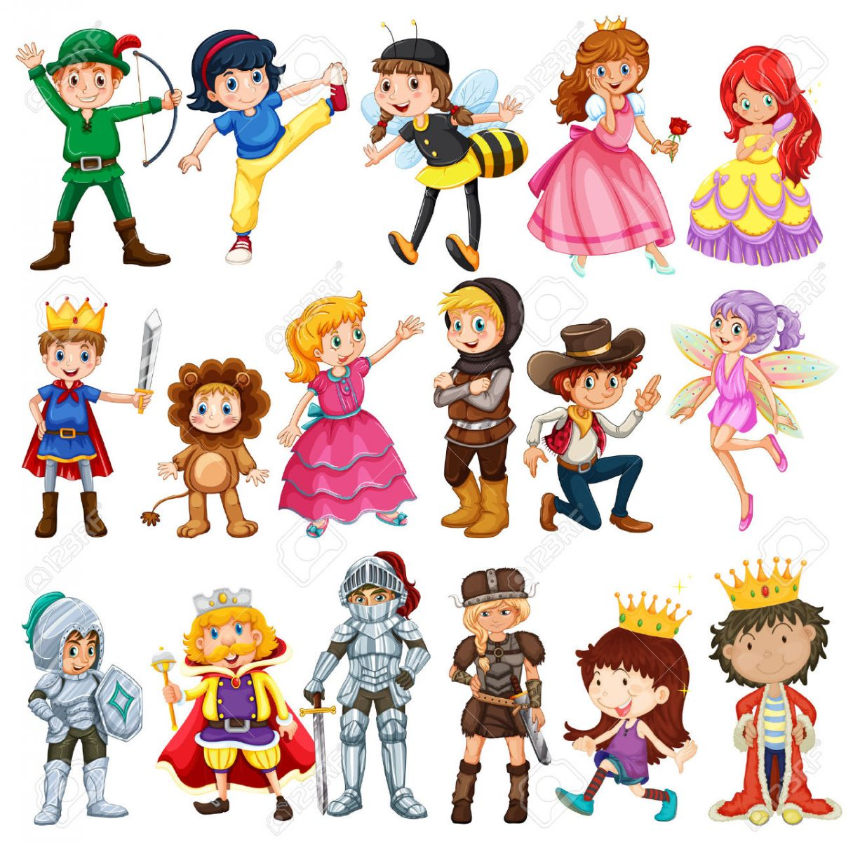 Book character parade clipart png free library Garrett Primary School - Index png free library