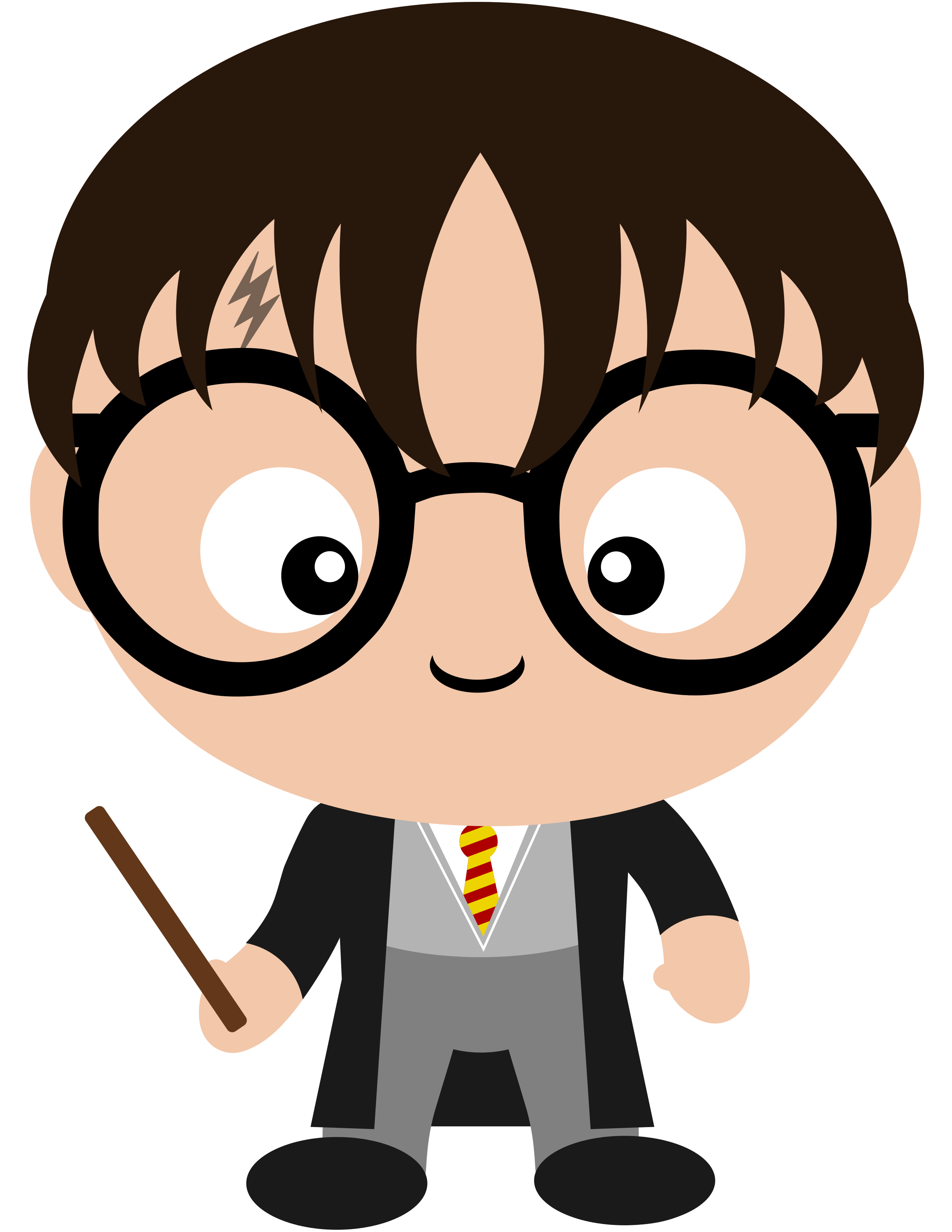 Book characters clipart clip art free library The one and only, Harry Potter. The world will ever be the same ... clip art free library