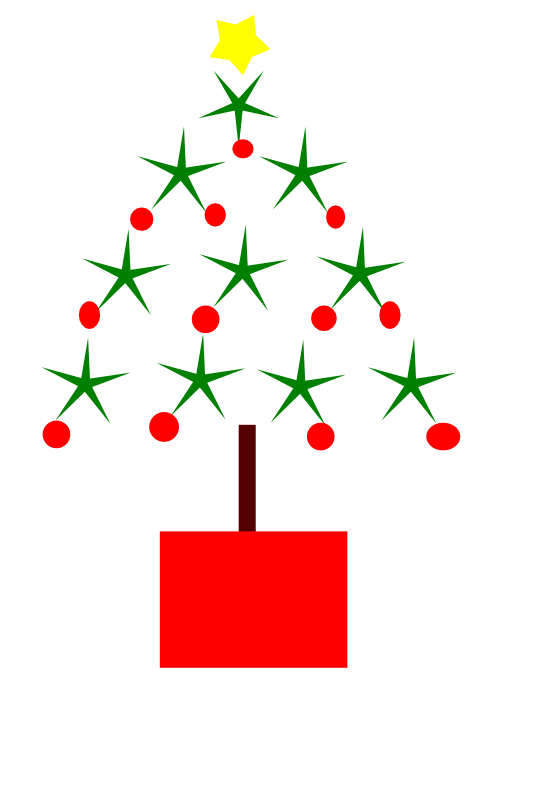 Tree line clipart png free library clipartist.net » Clip Art » christmas tree drawing 2 coloring book ... png free library