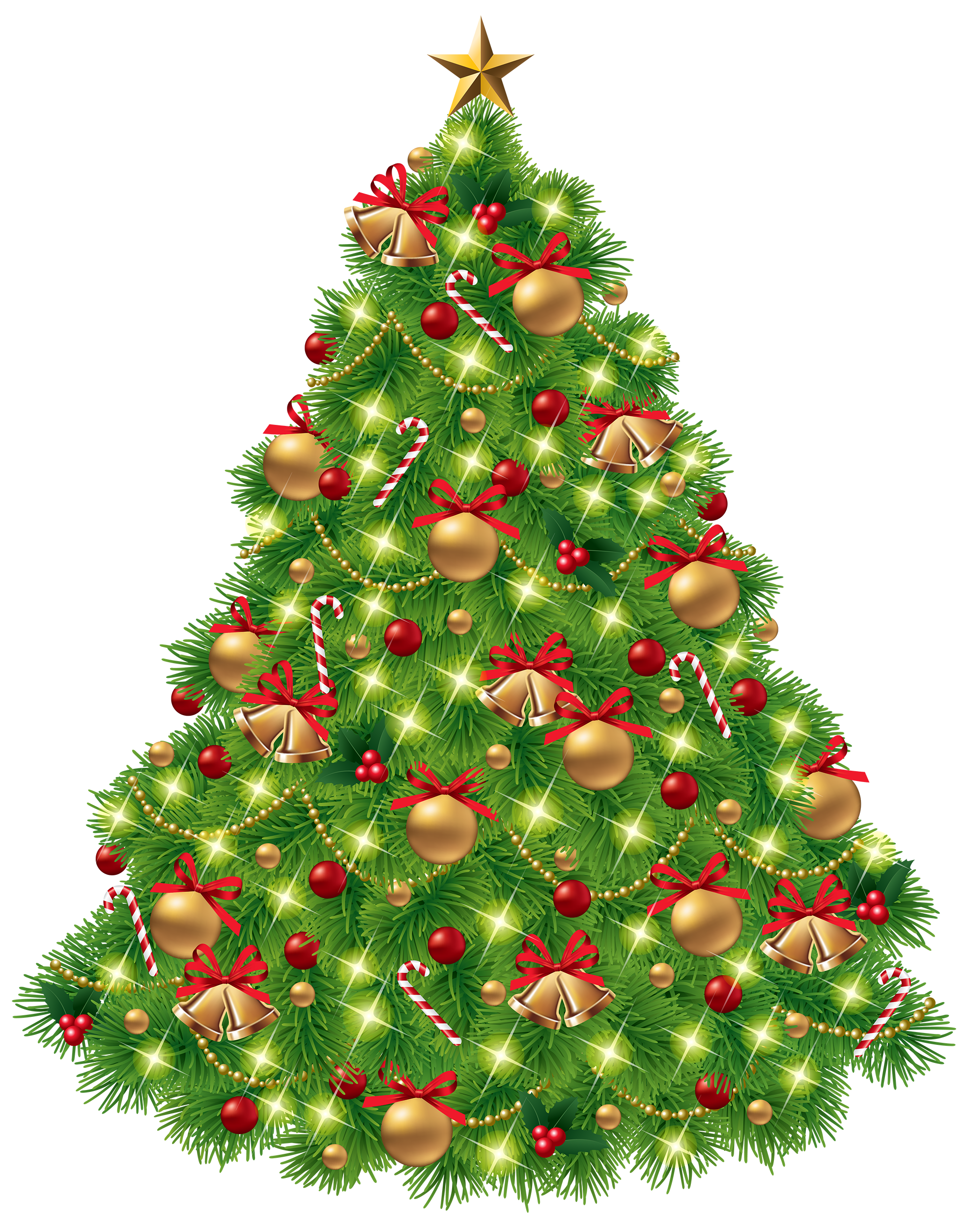 Christmas tree clipart png graphic black and white library Christmas Tree PNG Clipart - Best WEB Clipart graphic black and white library