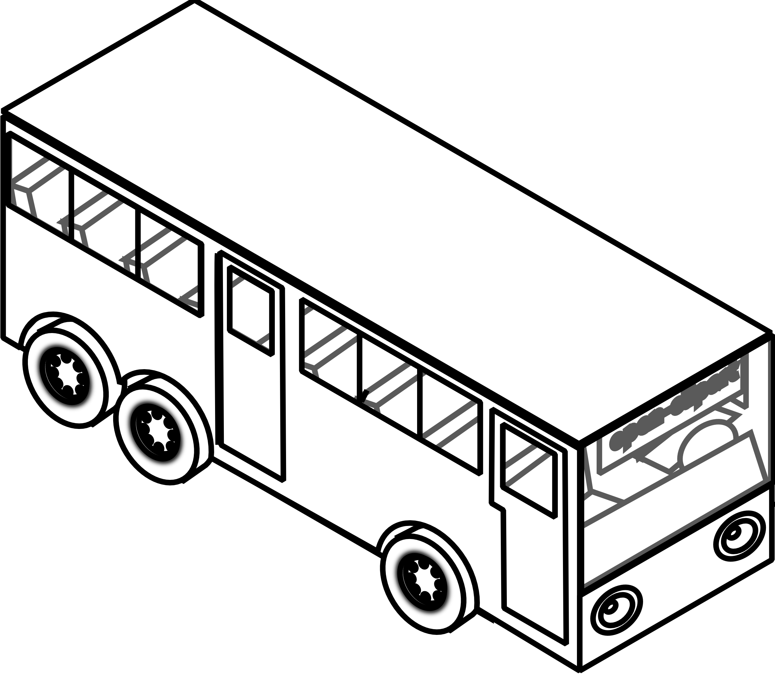 Muddy car clipart jpg transparent library Bus black and white bus clipart black and white free images ... jpg transparent library