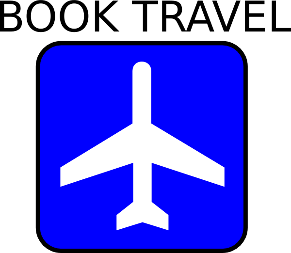 Book clipart vector png black and white Book Travel Clip Art at Clker.com - vector clip art online, royalty ... png black and white
