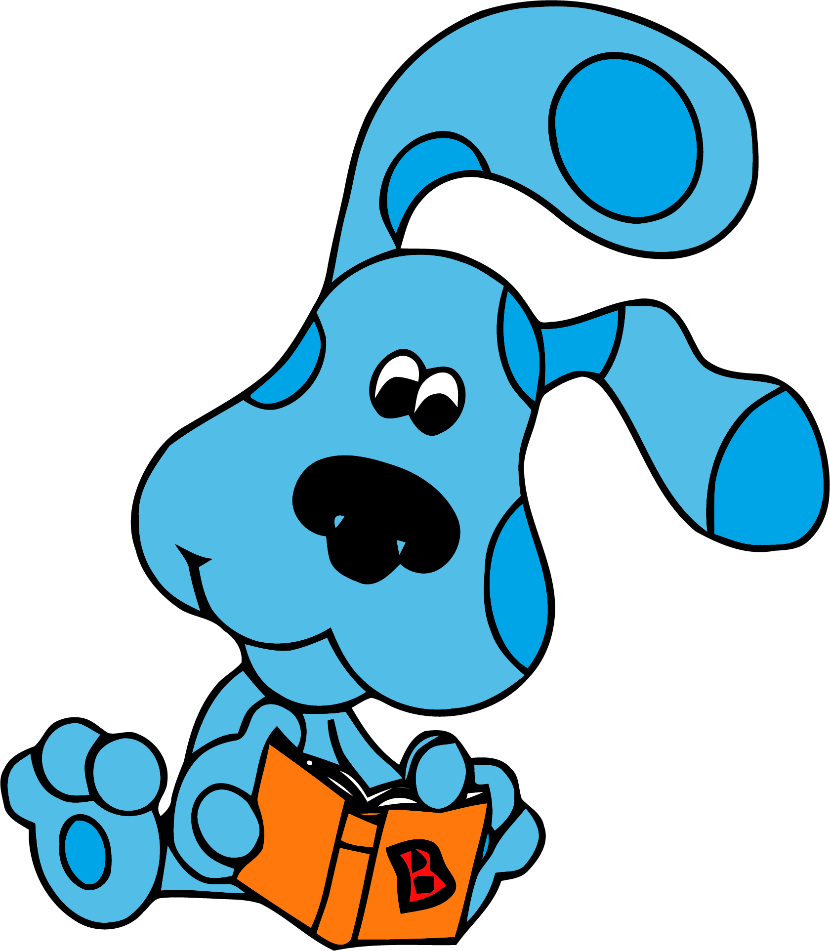 Book clipart blue clip art royalty free library Blue's Clues Clip Book Clipart Png - Clipartly.com clip art royalty free library