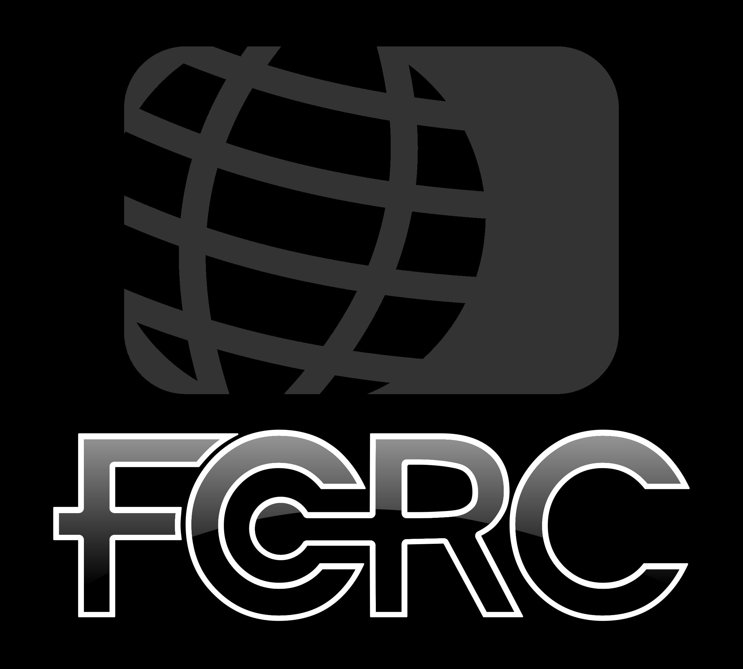 Clipart - FCRC globe logo 6 banner royalty free stock