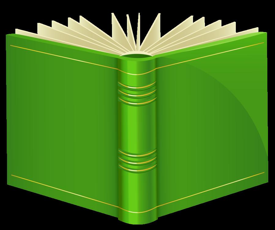 Clipart for a book vector stock Green Book PNG ClipArt vector stock