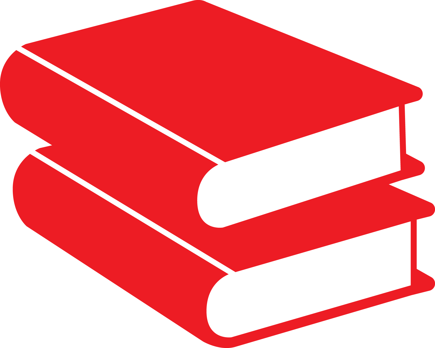 Book clipart red banner library library books_red_rgb | YMCA banner library library