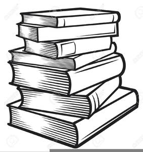 Book clipart royalty free image freeuse library Stack Of Books Clipart Black And White | Free Images at Clker.com ... image freeuse library