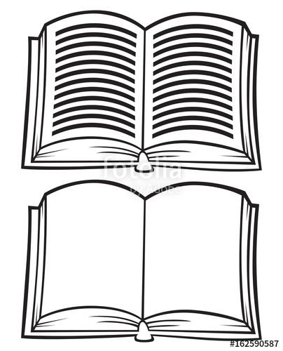 Book clipart royalty free clip Cartoon Open Book Clipart\
