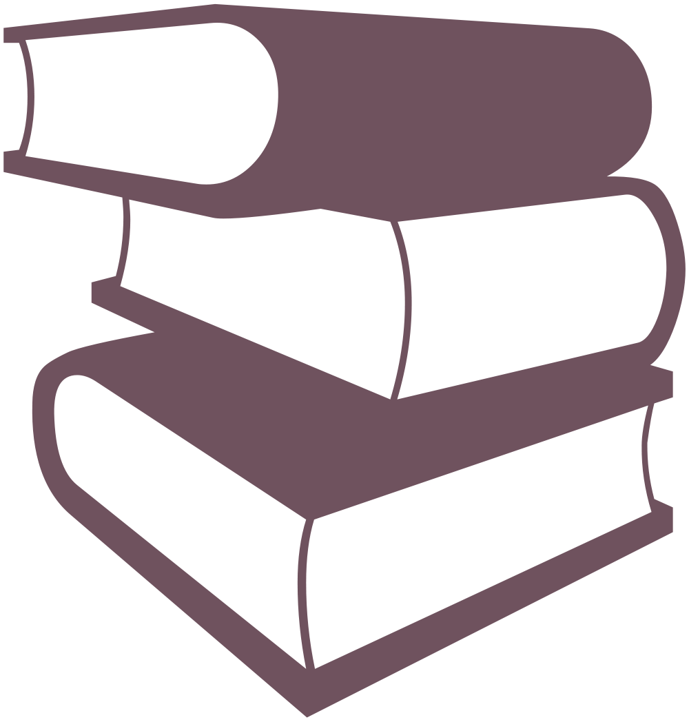 Book clipart silhouette png File:Books Silhouette.svg - Wikimedia Commons png