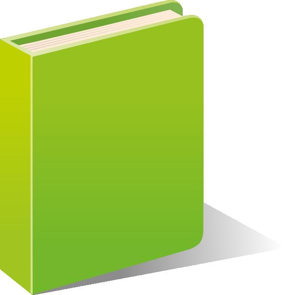 Book clipart small png stock Green Book Clip Art at Clker.com - vector clip art online, royalty ... png stock