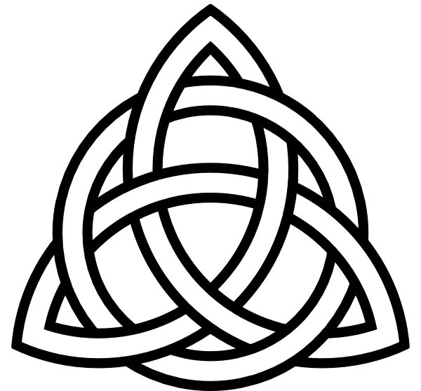 Celtic heart knot clipart clip freeuse celtic knot clipart | Celtic Knot clip art - vector clip art online ... clip freeuse