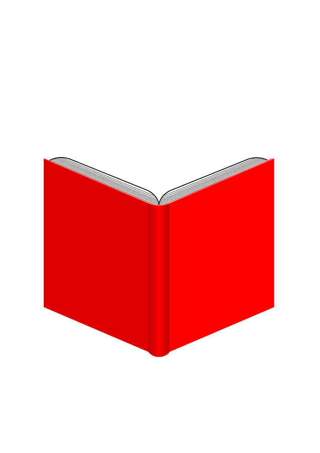 Book clipart vector image black and white library Red Books Cliparts - Cliparts Zone image black and white library