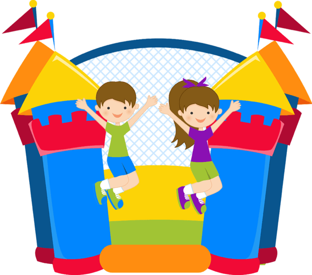Kids share book clipart banner free stock Book your bouncy castle party now! | The Hub at Ashmore Park banner free stock