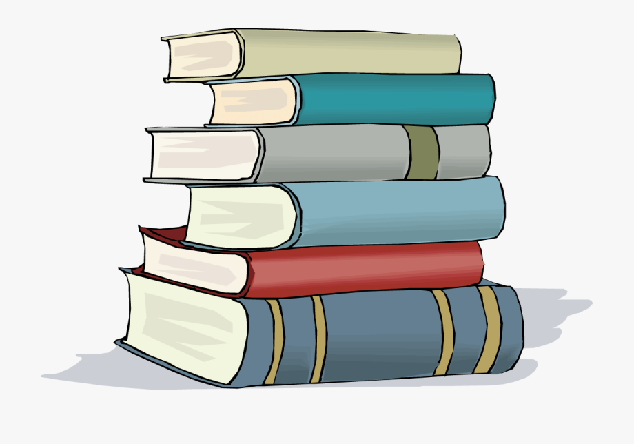 Book cliparts free png transparent library Free Clipart School Books And Featured Illustration - Stack Of Books ... png transparent library