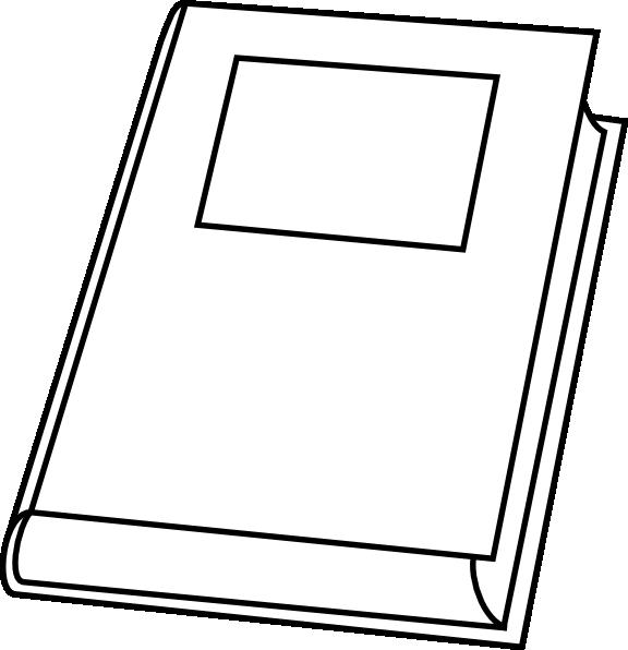 Clipart picture of a book clipart transparent Book Outline Clip Art at Clker.com - vector clip art online, royalty ... clipart transparent