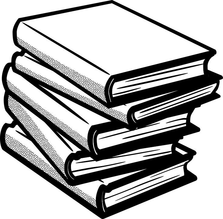 Book collection clipart png freeuse stock Collection of Book White Cliparts | Buy any image and use it for ... png freeuse stock