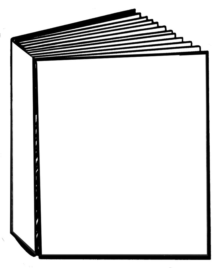 Book cover clipart image stock Blank book cover clipart - ClipartFest image stock