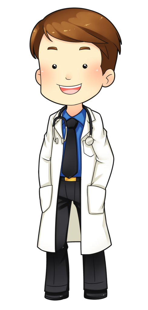 Book doctor clipart vector library library Doctor Free To Use Clipart Cartoon | typegoodies.me vector library library