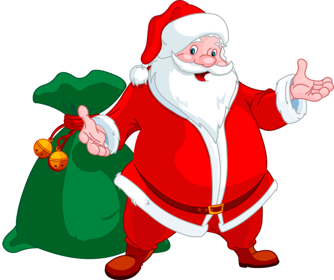 Santa reading a book clipart clipart freeuse Book Drive | Casey Barnes clipart freeuse