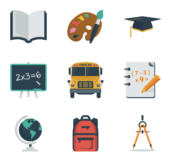 Flat open book clipart vector free library Book Icons - 10,294 free vector icons vector free library