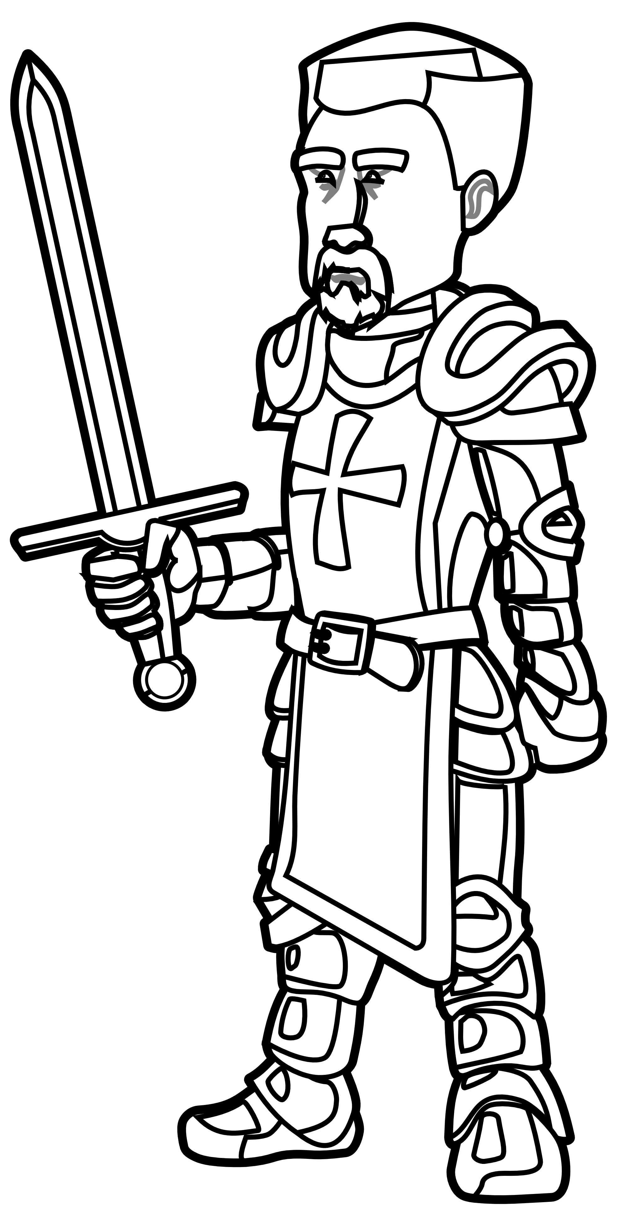 Knight basketball clipart free library Knight Clipart Black And White   Clipart Panda - Free Clipart Images free library