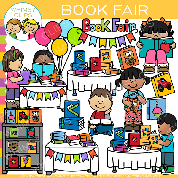 Book fair clipart images image royalty free School Book Fair Clip Art image royalty free