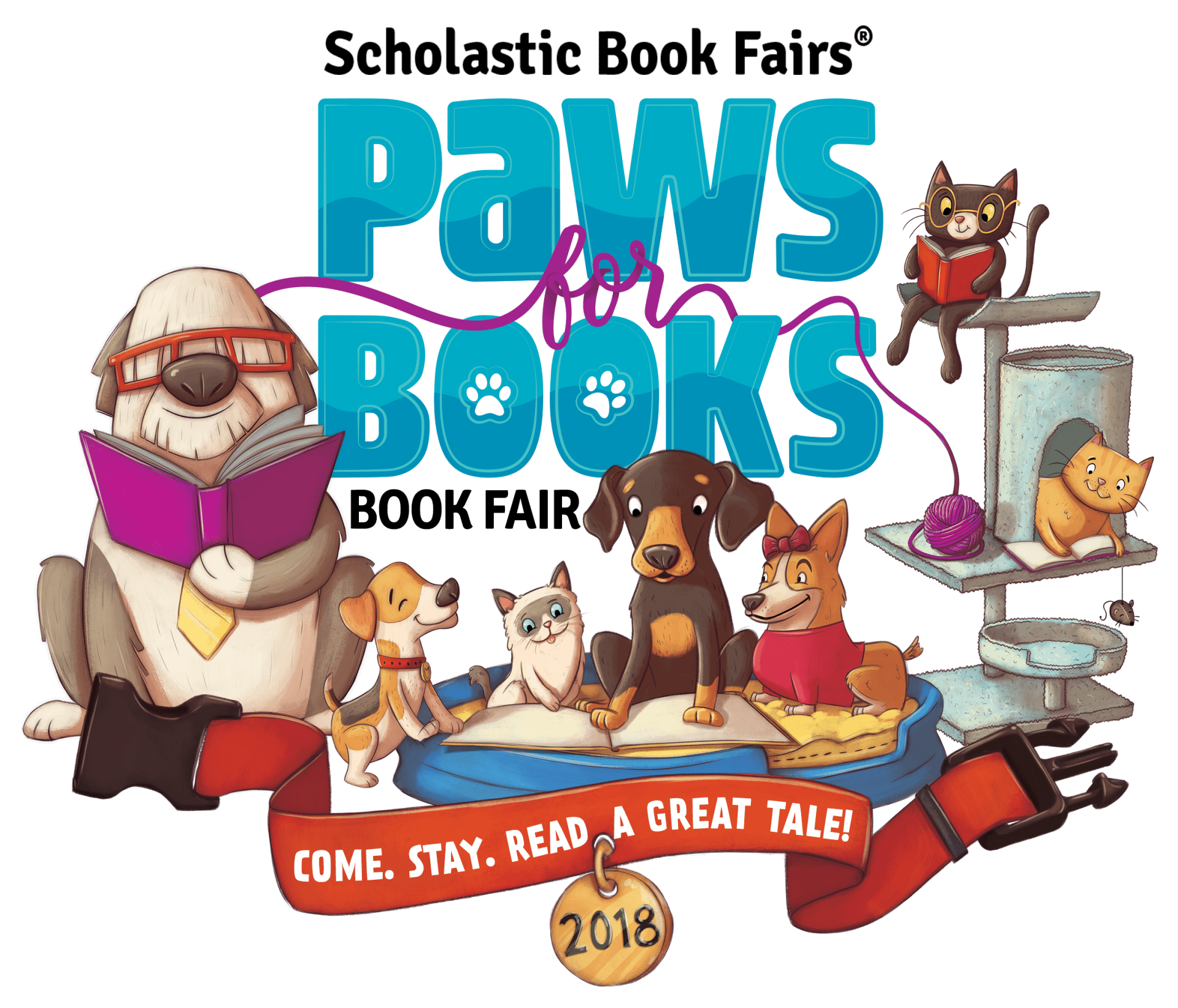 Scholastic book fair luau clipart picture free Spring Book Fair - Atherton Elementary picture free