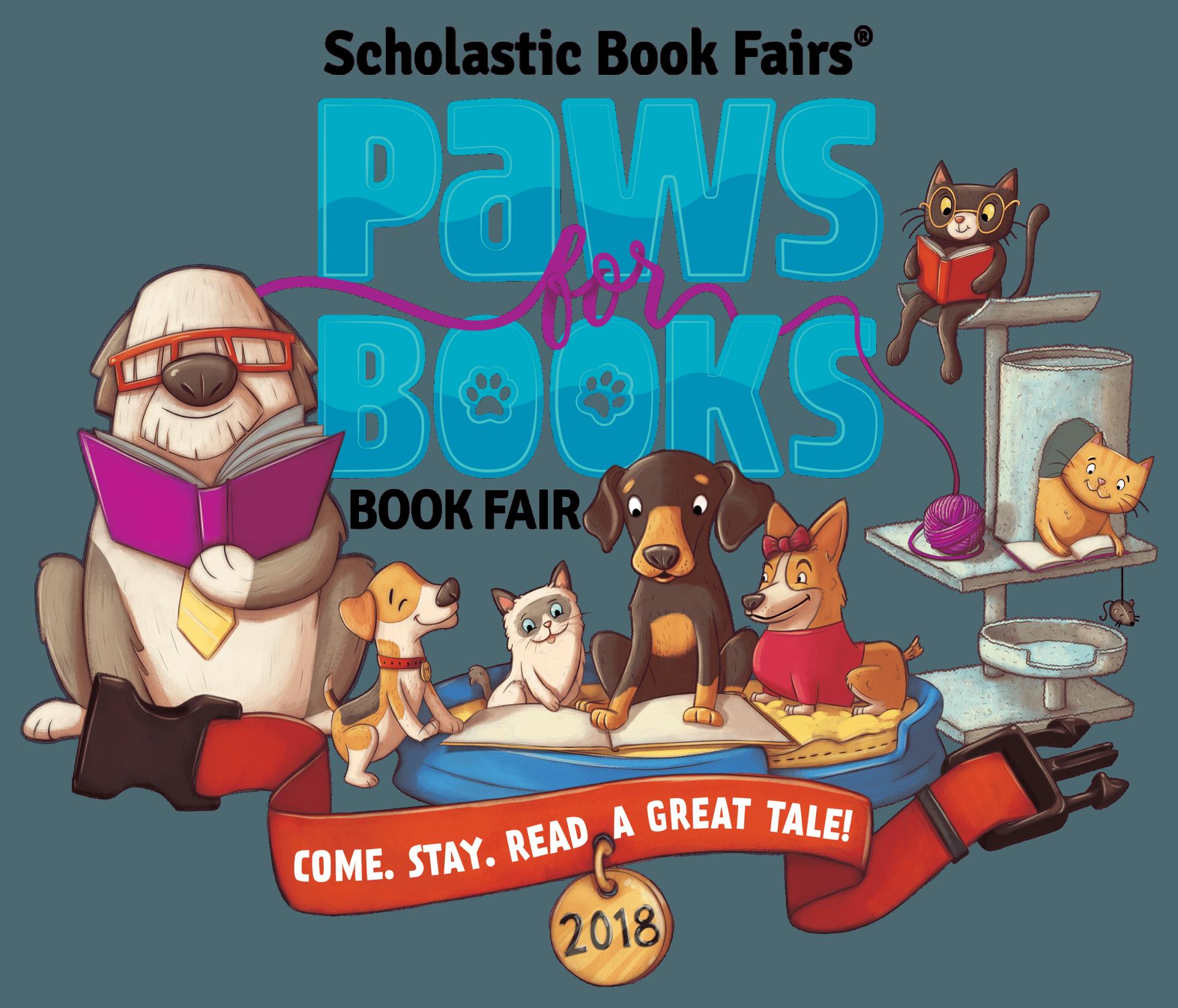 Scholastic book fair 2018 clipart clip art royalty free library Spring Book Fair - Atherton Elementary clip art royalty free library