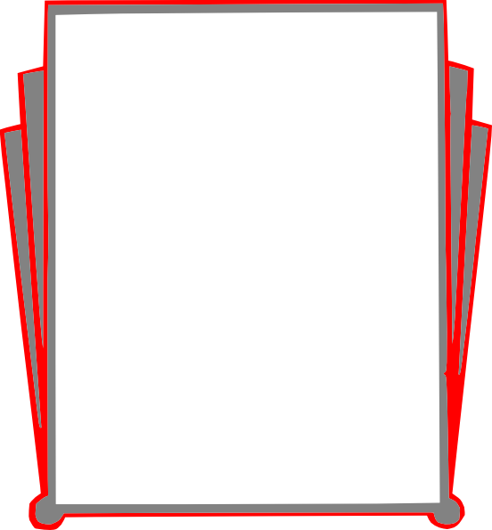 Transparent png clipart book pages banner royalty free download Decorative Border Pages Book Clip Art at Clker.com - vector clip art ... banner royalty free download