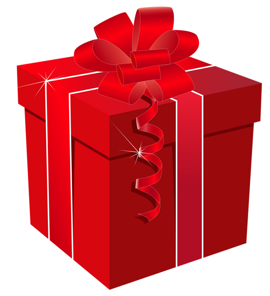 Book gift clipart jpg transparent Red Gift Box with Red Bow PNG Clipart Image | Christmas Clipart ... jpg transparent