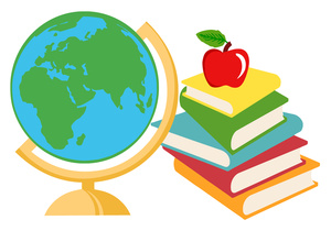 Book globe clipart clipart black and white stock Free Geography Clipart Image 0521-1010-3116-5734 | Book Clipart clipart black and white stock