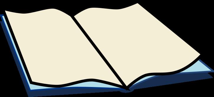 Free open public domain. Book in clipart